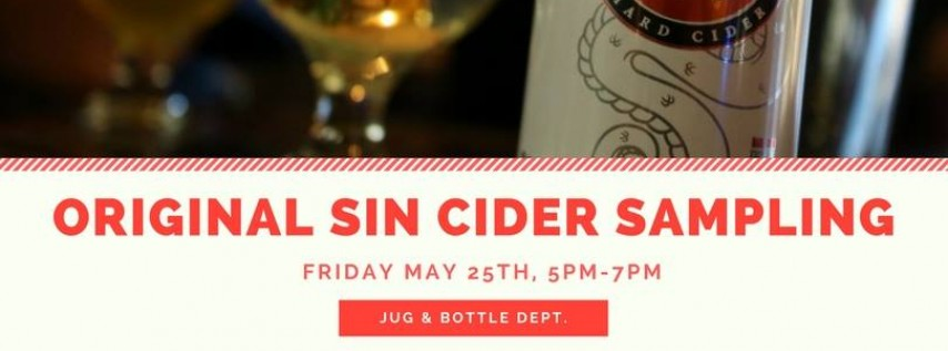 Original Sin Cider Sampling