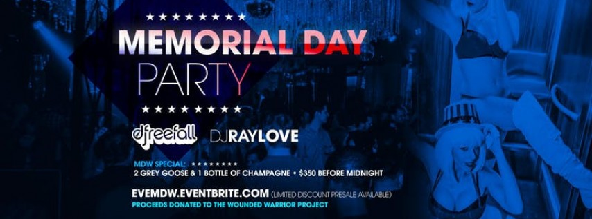 Memorial Day Weekend Party @ EVE Orlando