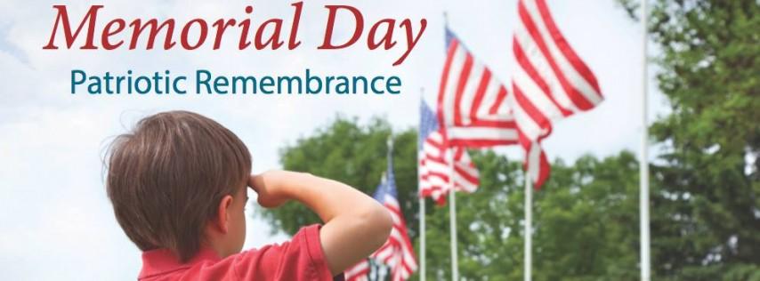 Memorial Day Patriotic Remembrance 2018