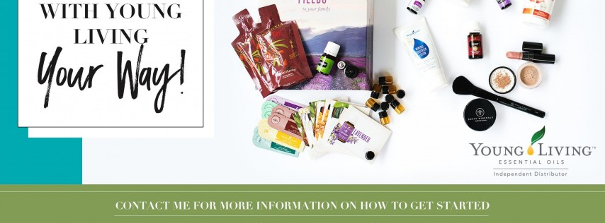Veronica's Path with Young Living Essential Products & The Exercise Coach