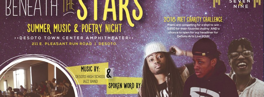 Beneath the Stars Summer Music & Poetry Night