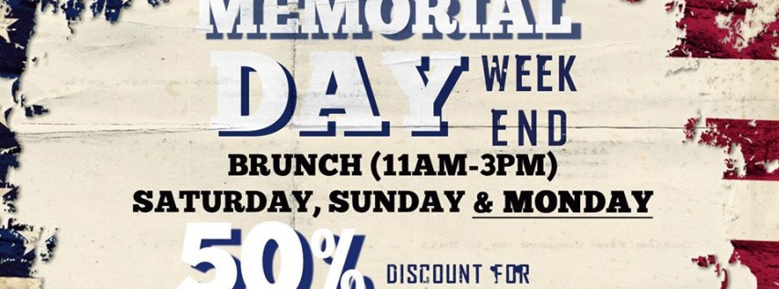Memorial Day Weekend at Prost Kitchen+Bar