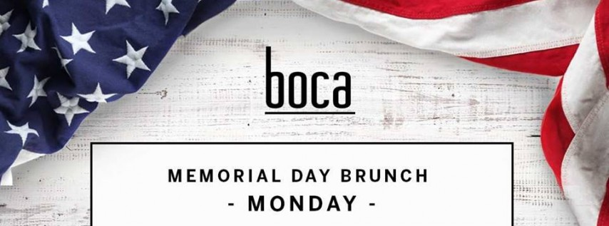 Memorial Day Brunch at Boca