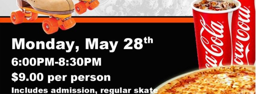 Memorial Day All You Can Cram Skate Party
