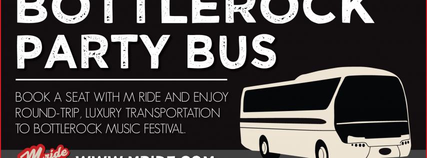 BottleRock Napa Party Bus - FRIDAY