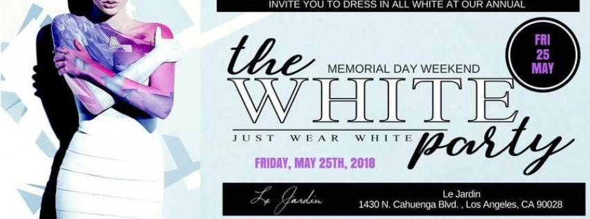 2018 Annual All White Party