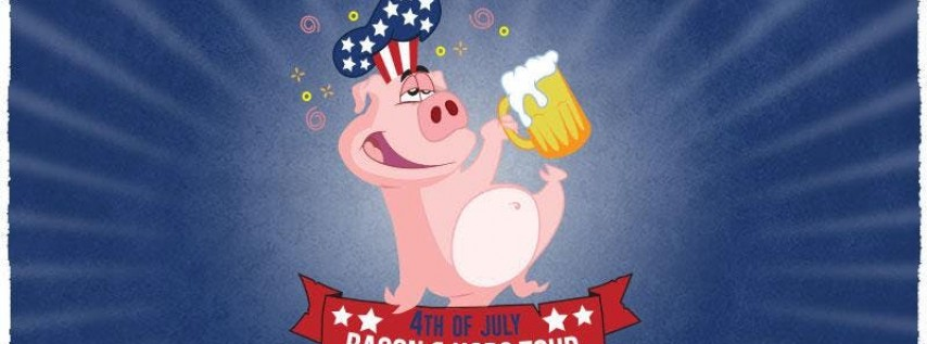 Miami's 4th Annual Bacon and Beer July 4th Bar Crawl