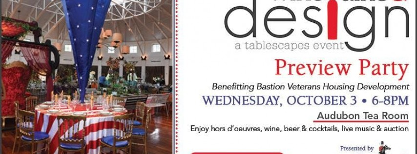 Wine Dine & Design Preview Party