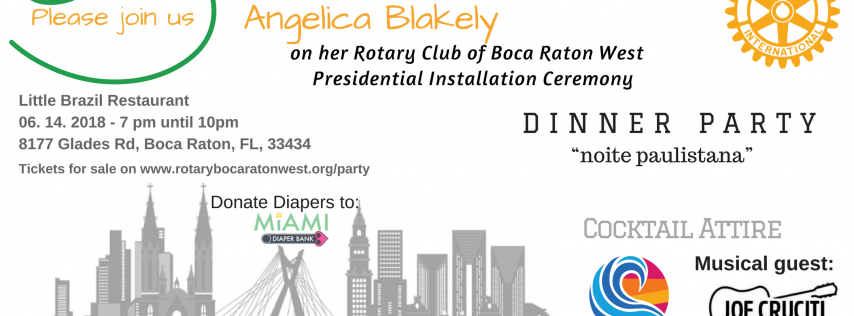 Rotary Boca Raton West Installation Party 2018-2019