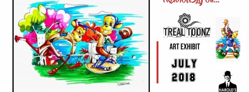 Previously On: Treal Toonz Art Exhibit