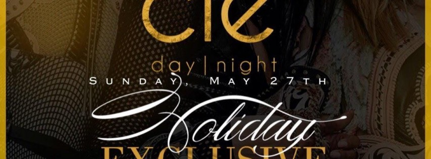 SUNDAY NIGHT MEMORIAL DAY WEEKEND HOLIDAY EXCLUSIVE / MAY 27TH / Clé (10-2AM)