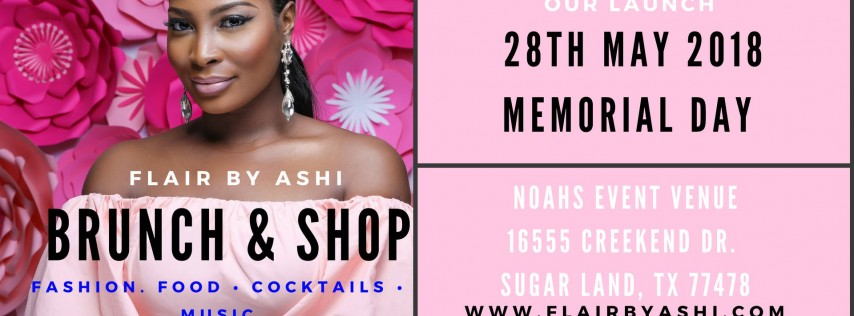 FlairbyAshi Brunch & Shop Launch Party
