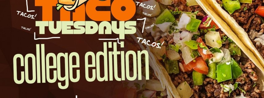#TacoTuesday @ Live Oak - HOUSTON'S #1 TUESDAY NIGHT SPOT