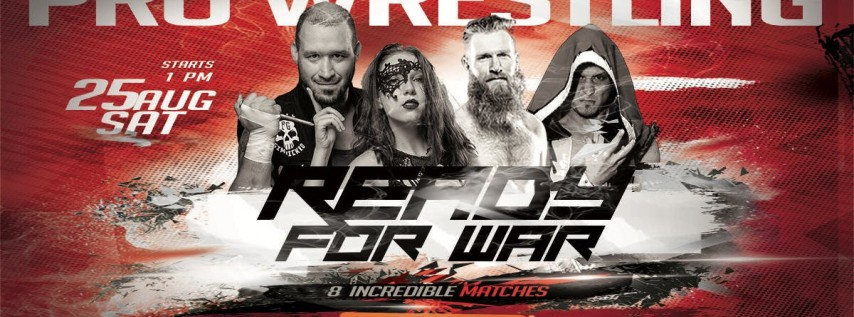 IGNITE Wrestling Presents Ready For War