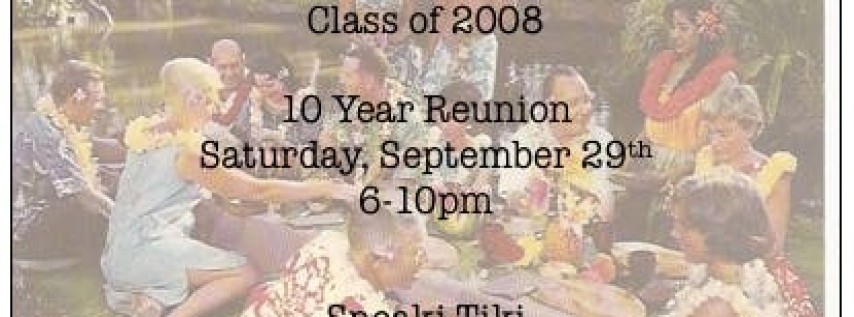 MCHS Class of 2008 10 Year Reunion
