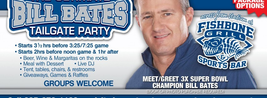VIP Sports Presents the Ultimate Bill Bates Tailgate Party-Cowboys v JAGUARS