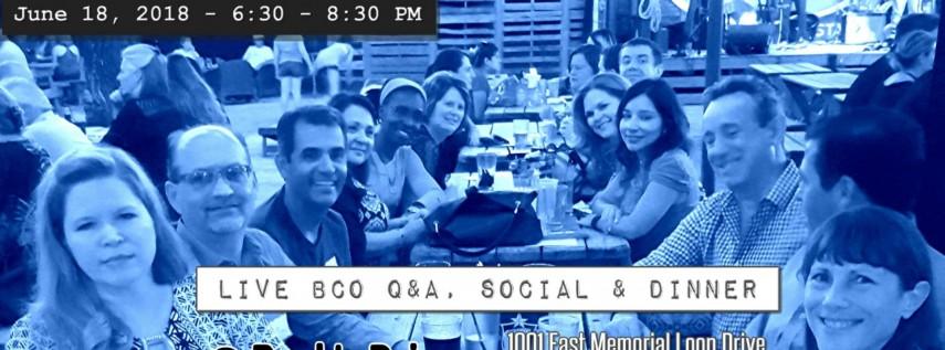 BCO Non-Member Q&A Dinner
