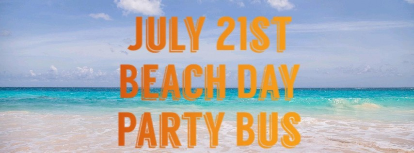 Beach Day Party Bus