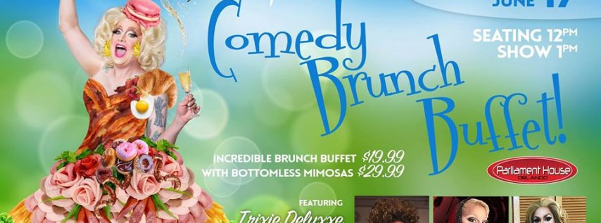 April Fresh's Comedy Brunch (Father's Day Edition)