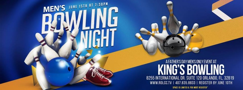 Men's Bowling Night-A Father's Day Event