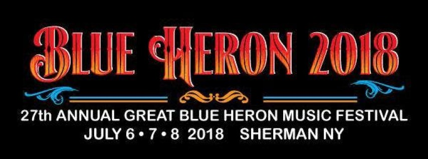 Great Blue Heron Music Festival 2018