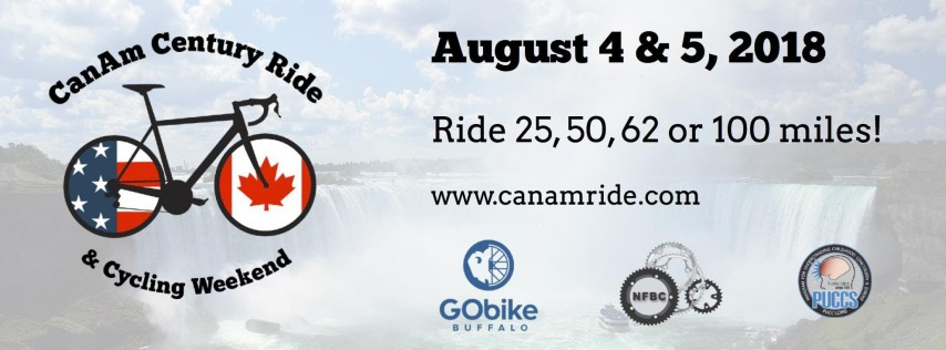 CanAm Century Ride & Cycling Weekend 2018