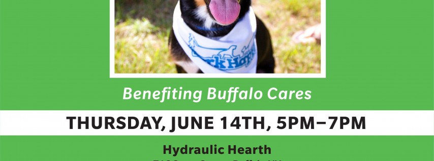 BarkHappy Buffalo Yappy Hour Benefiting Buffalo Cares