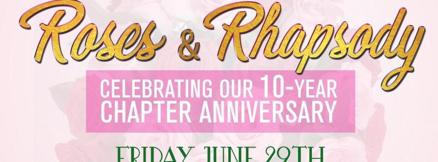 Roses and Rhapsody - Psi Theta Omega's 10 Year Anniversary Kickoff