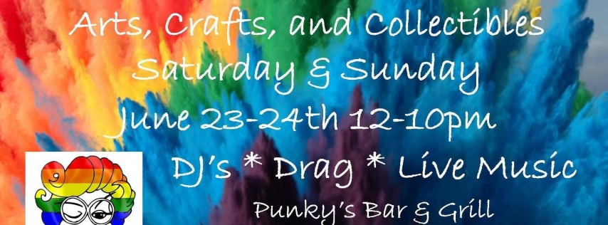 Art Bazaar at Punky's!