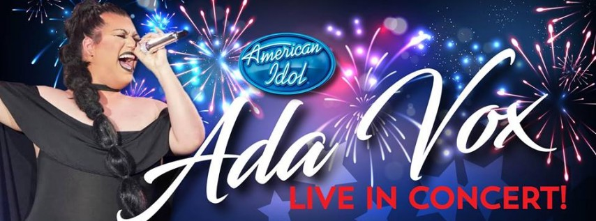 ADA VOX at the Parliament House! America's Birthday with an American Idol