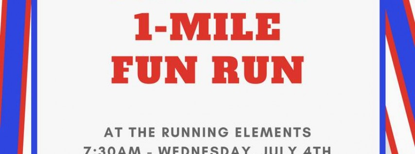 Free July 4th 1-Mile Run/Walk