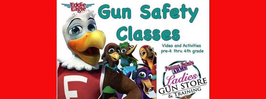 Children's GUN SAFETY Class ages K-4th Grade