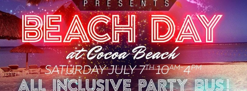 All Inclusive Party Bus to Cocoa Beach - OYP Beach Party