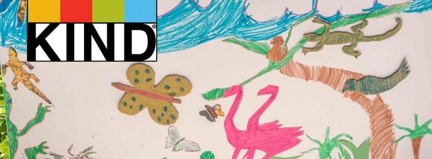 Kids Turning Nature Into Art! (Free Summer Art Camp 2018)