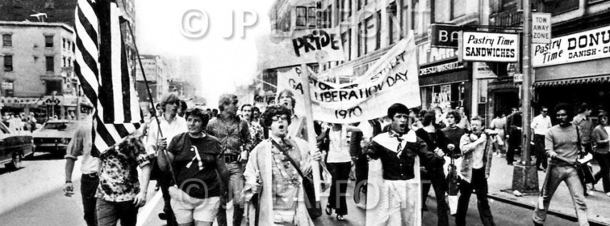 Do you remember your first Pride Parade?