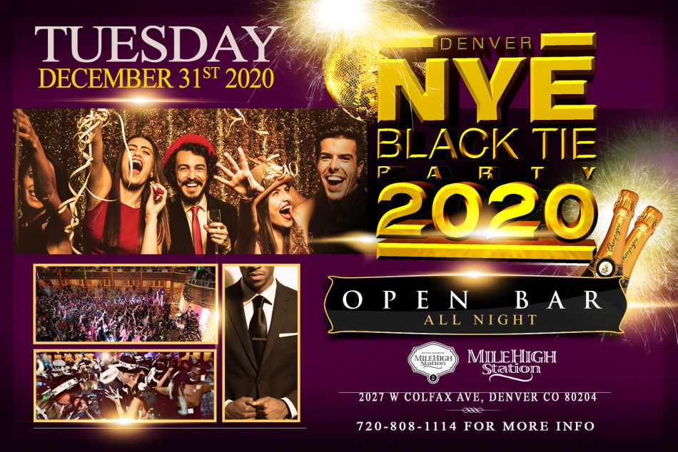 New Year's Black Tie Party
