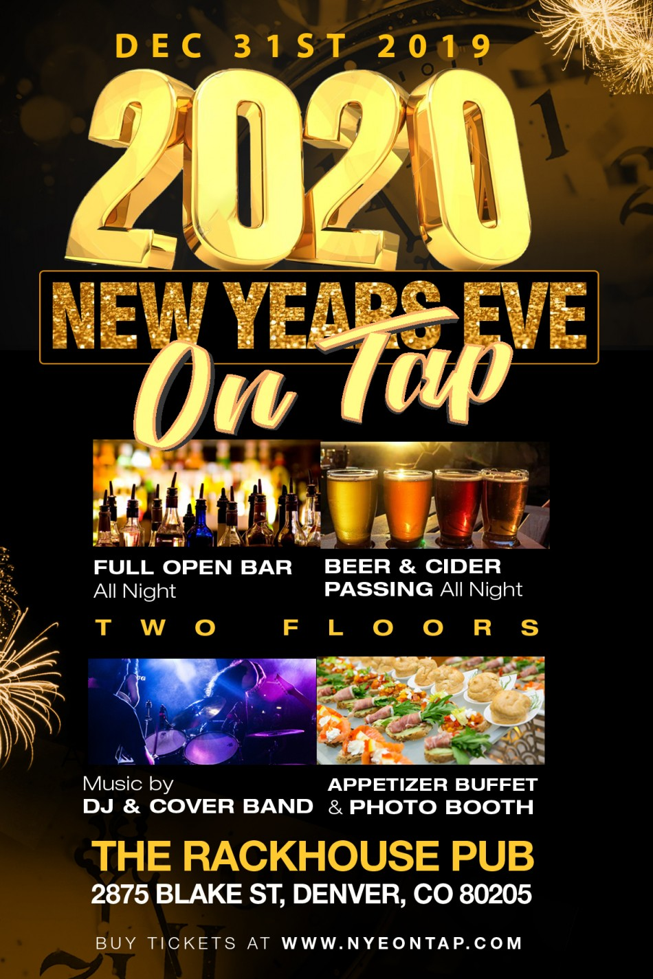 New Year's Eve On Tap