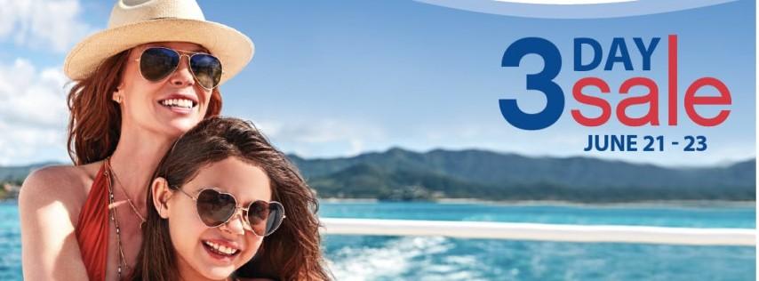 You're Invited! Princess 3 Day Sale Event 2018 Punta Gorda