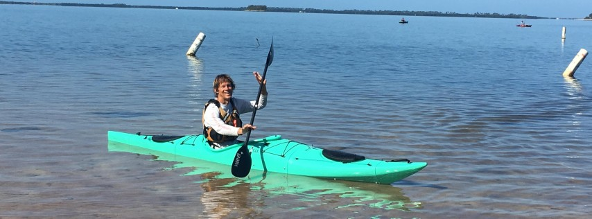 Pakayak Demo in Crystal Beach, FL