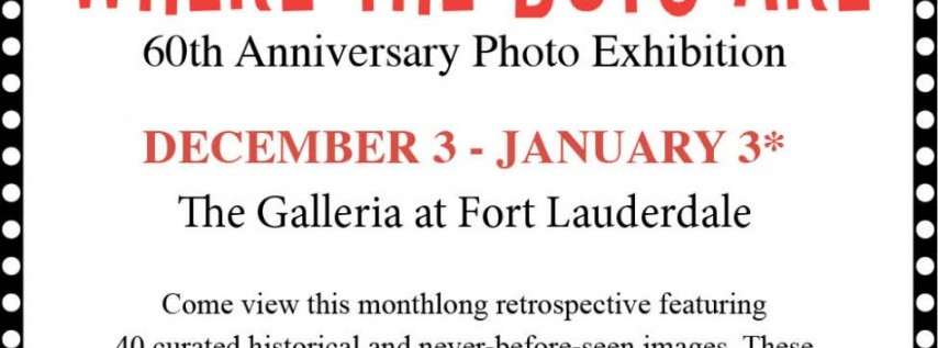 """History Fort Lauderdale Presents """"Where the Boys Are,"""" Photo Exhibition"""