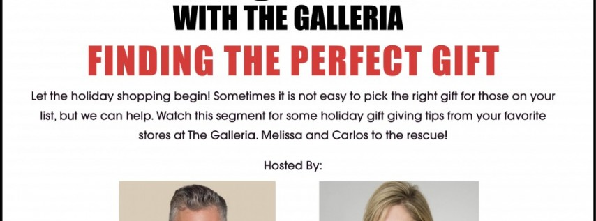 Find the Perfect Gift During In Style with The Galleria VIRTUAL SERIES