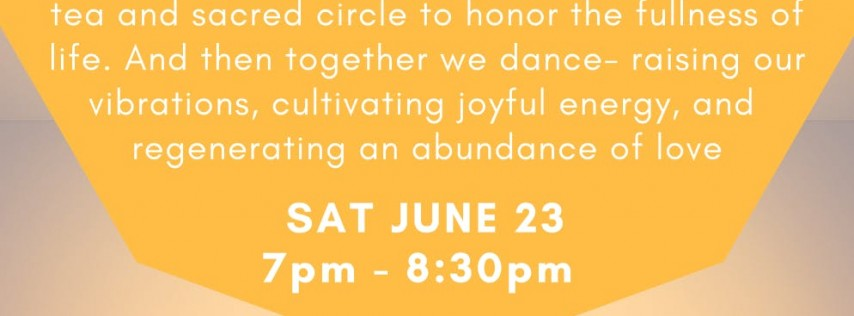 CELEBRATING LIGHT: ecstatic dance