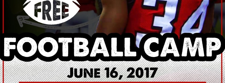 Annual Brian Poole Free Football Camp 2018