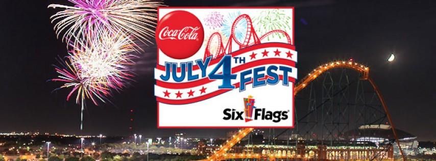 Six Flags July 4th Fest