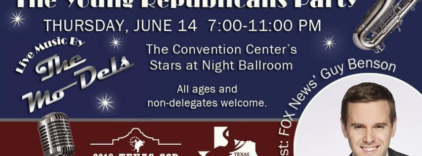 Convention Kickoff Party - with live music & special guest Guy Benson
