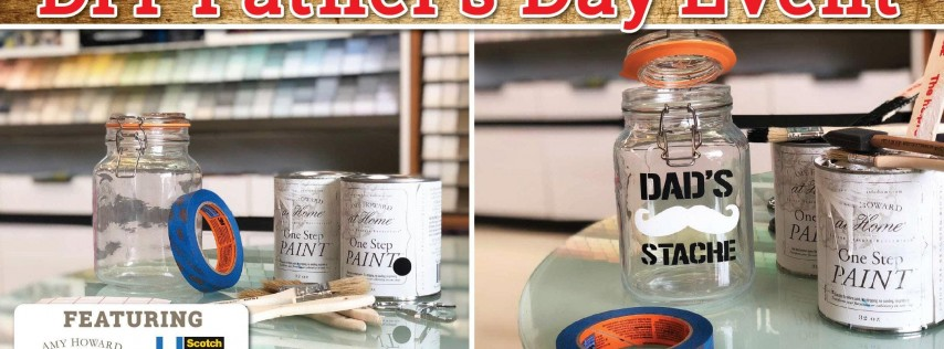 Father's Day DIY Project: Make a Stache Jar for Dad - Coppell