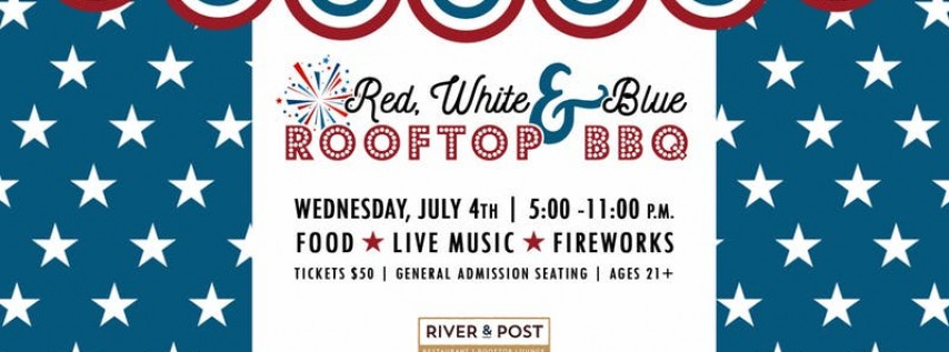 Red, White & Blue Rooftop BBQ