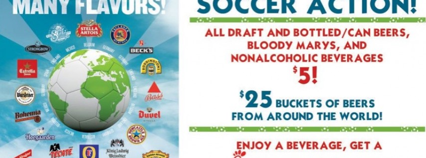 Get Your 2018 FIFA World Cup Soccer Fix at Park Tavern