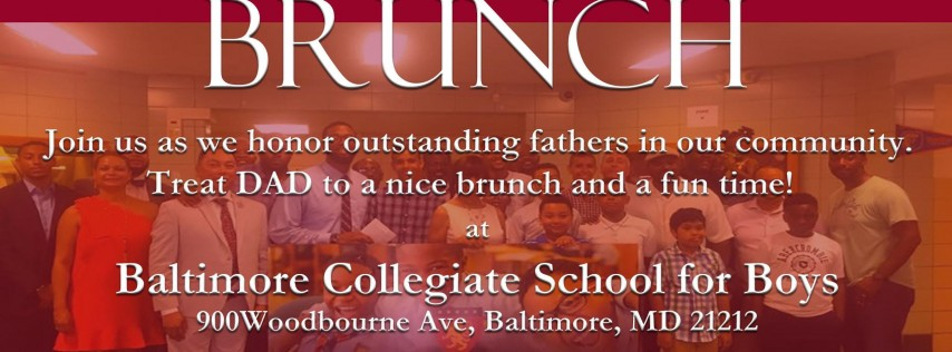 The 2nd Annual Baltimore Morehouse Father's Day Brunch