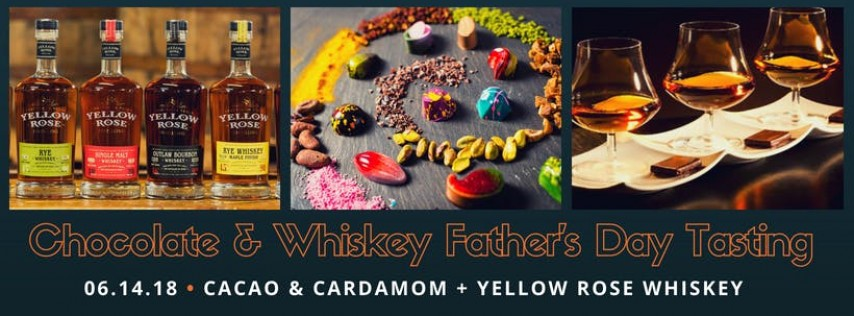 Chocolate and Whiskey Father's Day Tasting